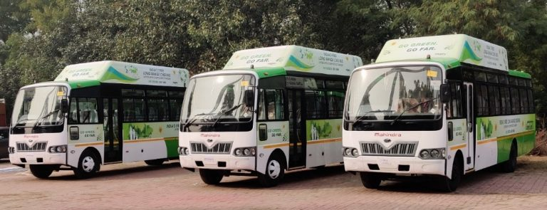 Agility Fuel Solutions launches long distance CNG buses in India