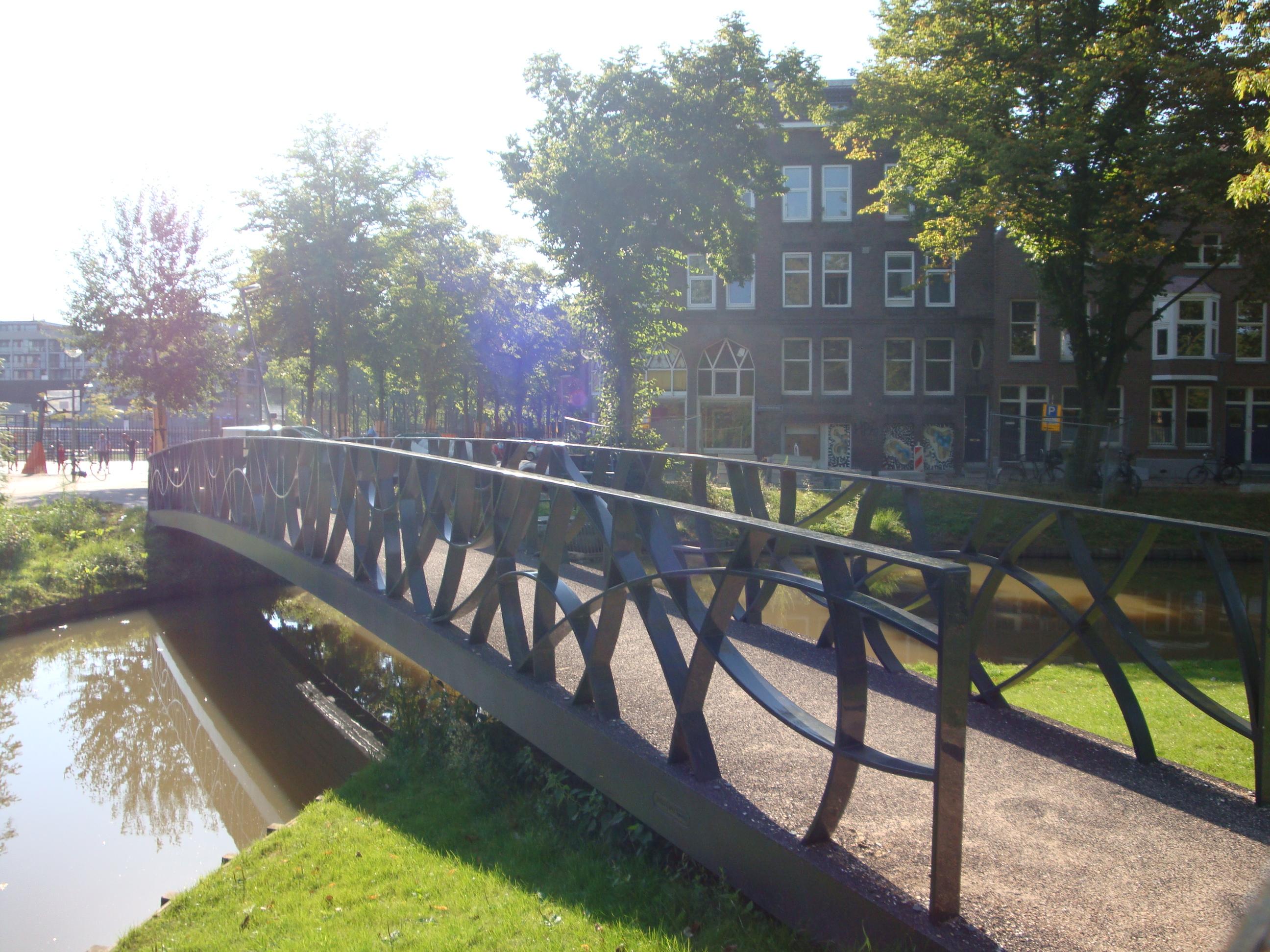 InfraCore pedestrian bridge Excersitiesingel Rotterdam NL