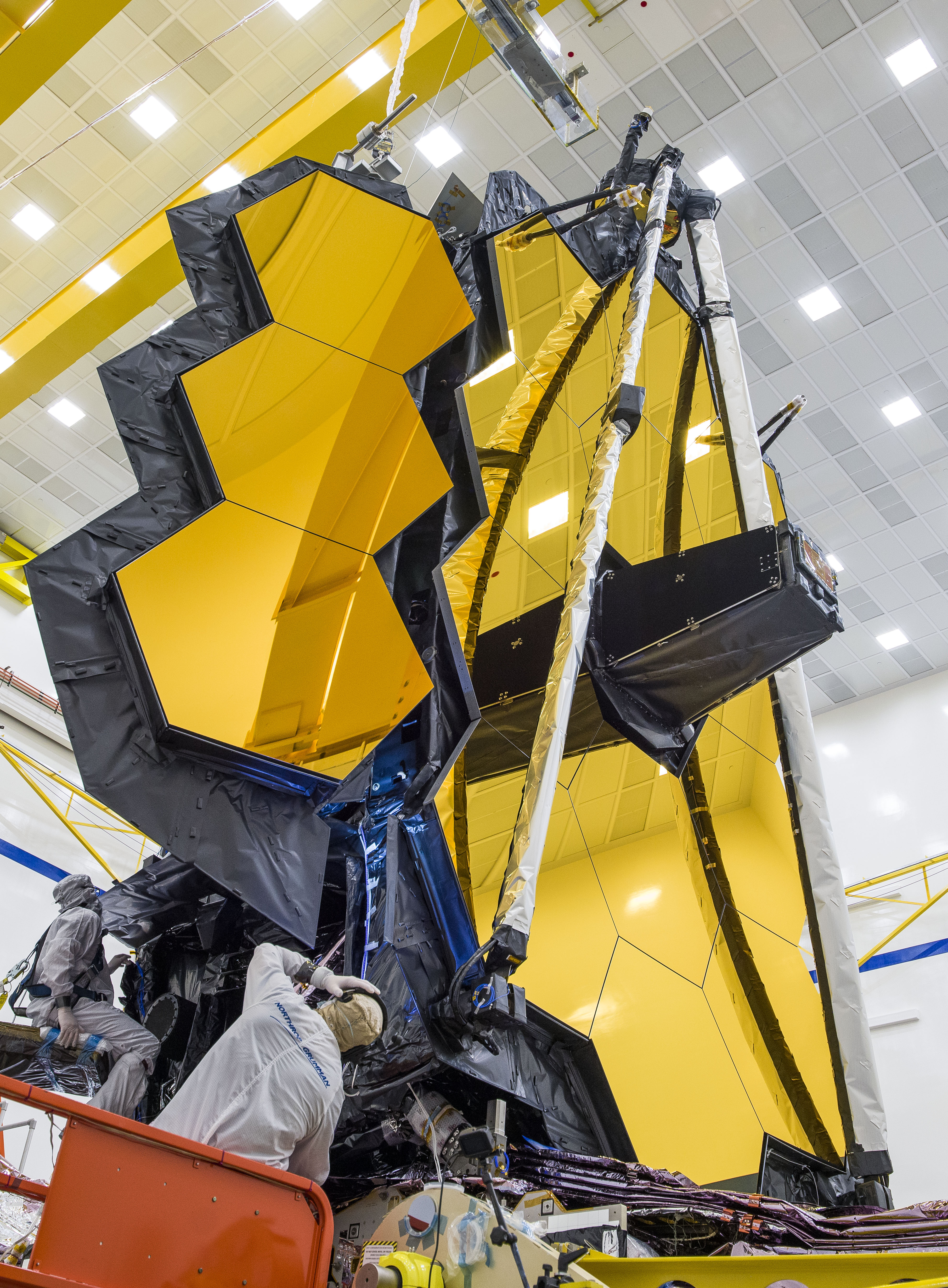 NASA's James Webb space telescope fully deployed its primary mirror