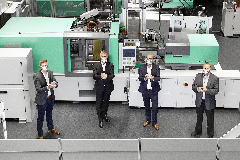 Arburg manufactures high-tech masks