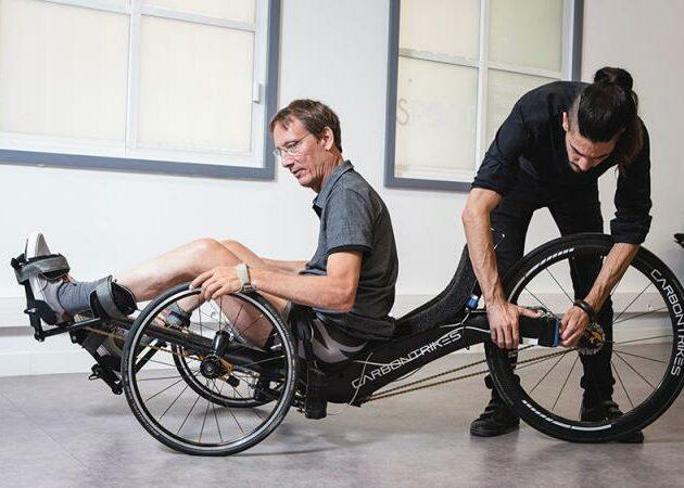 Un vélo à électrostimulation pour tétraplégiques