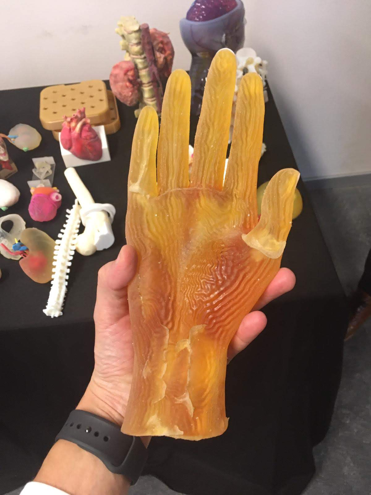 Printed hand