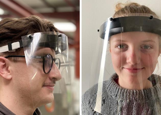 Somocap se mobilise et produit des pièces pour appareil respiratoire et des visières