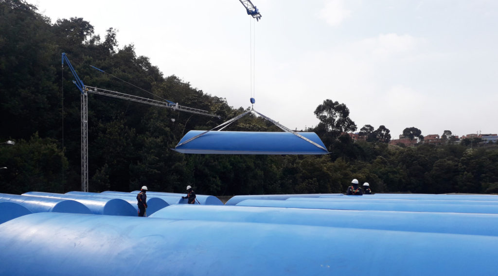 Field installation of new domes