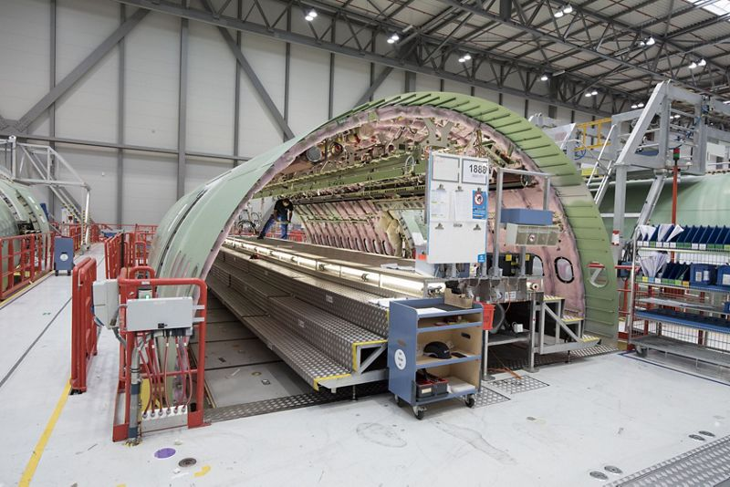 Airbus A330-800 Fuselage