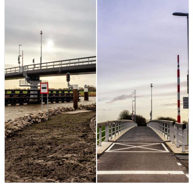 Un pont cyclable biosourcé aux Pays-Bas