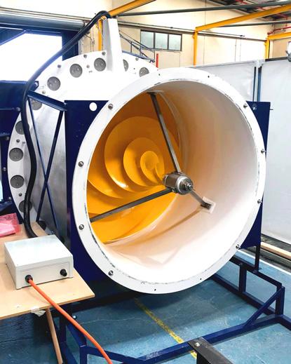 Composite hydro-electric turbine