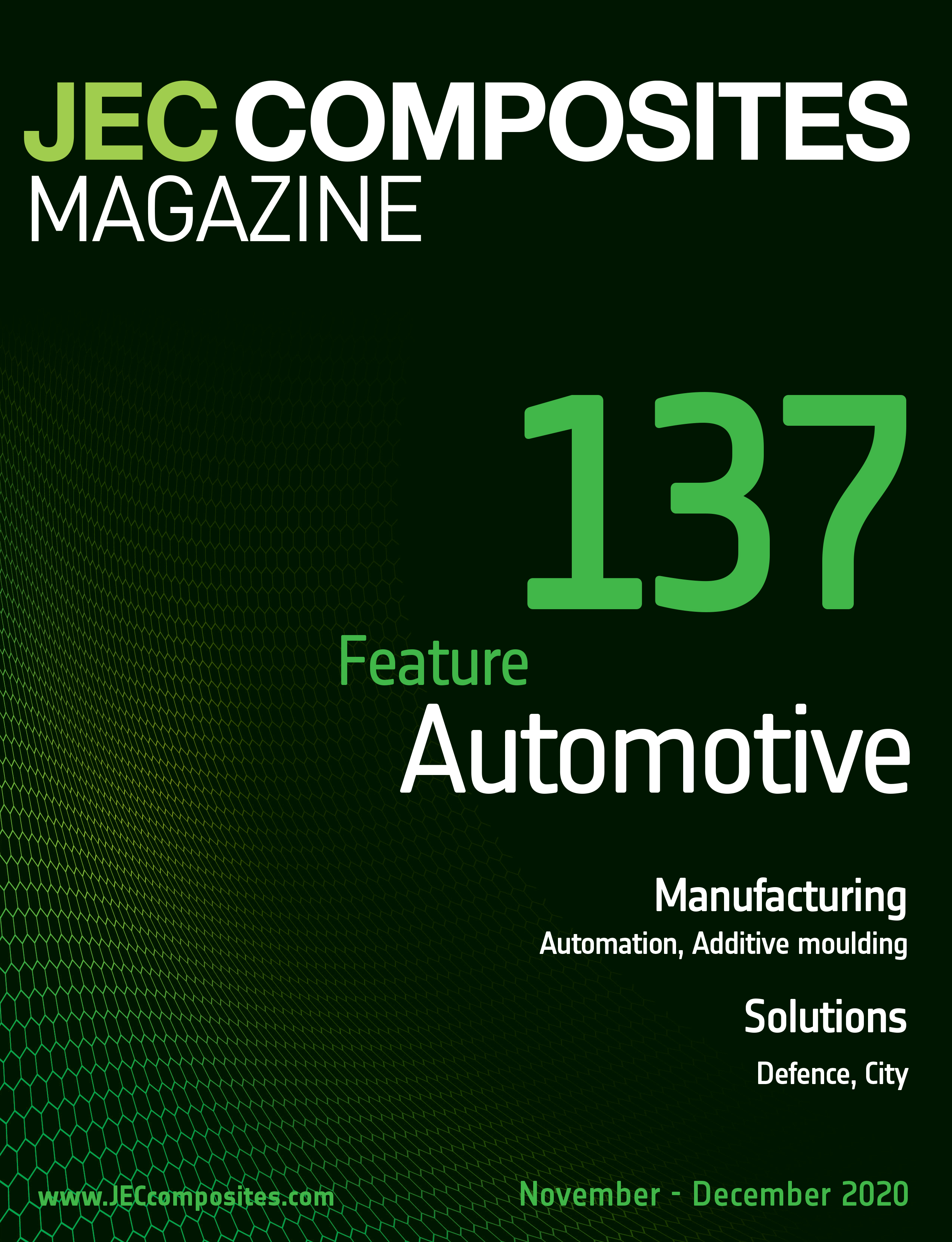 JEC Composites Magazine N°137, featuring Automotive