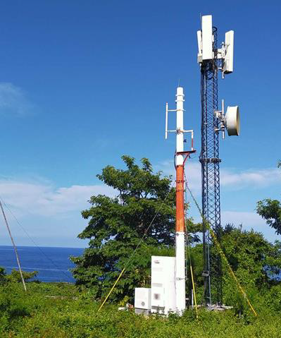 Sojitz invests in IsoTruss - Usage on islands and coastal areas (12 meters)