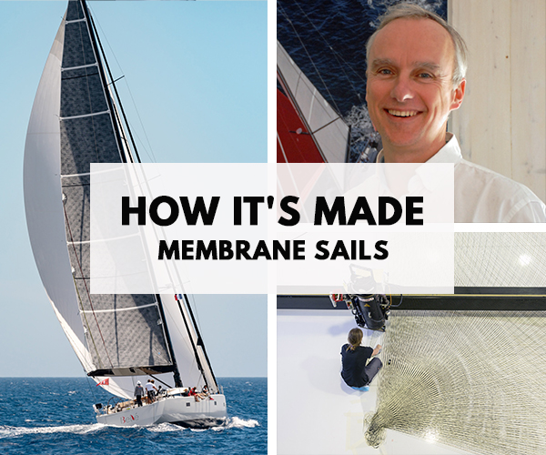 Want to discover how reinforced fibres sails are made ?
