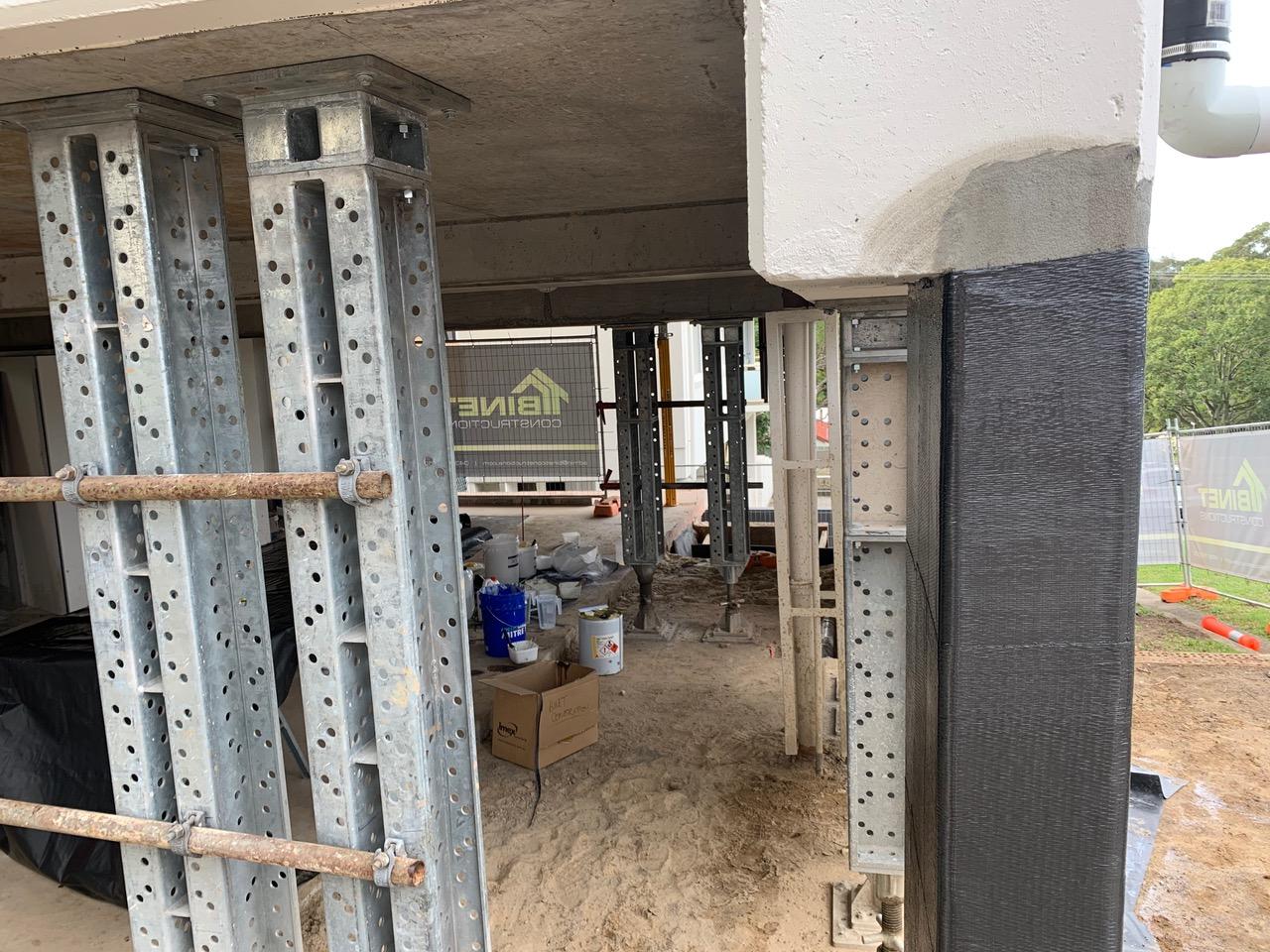 ATL Composites provides carbon fiber solution for concrete remediation