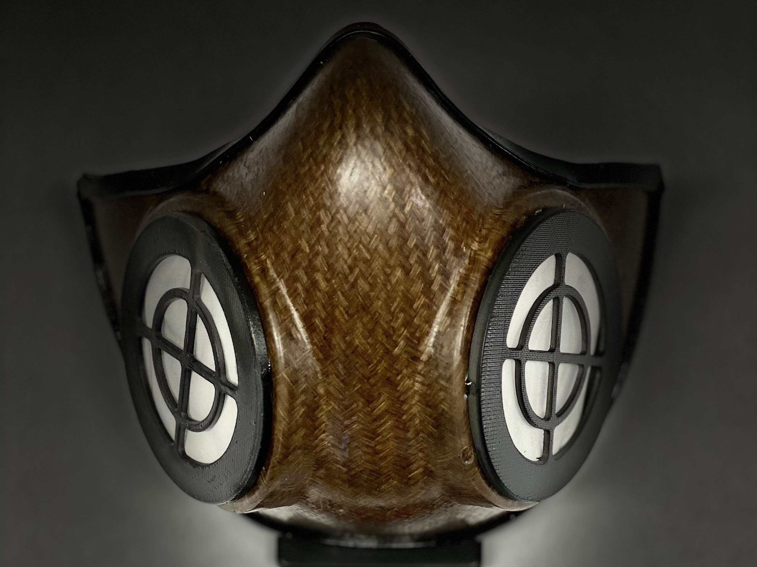 Medical face masks made with natural fibres