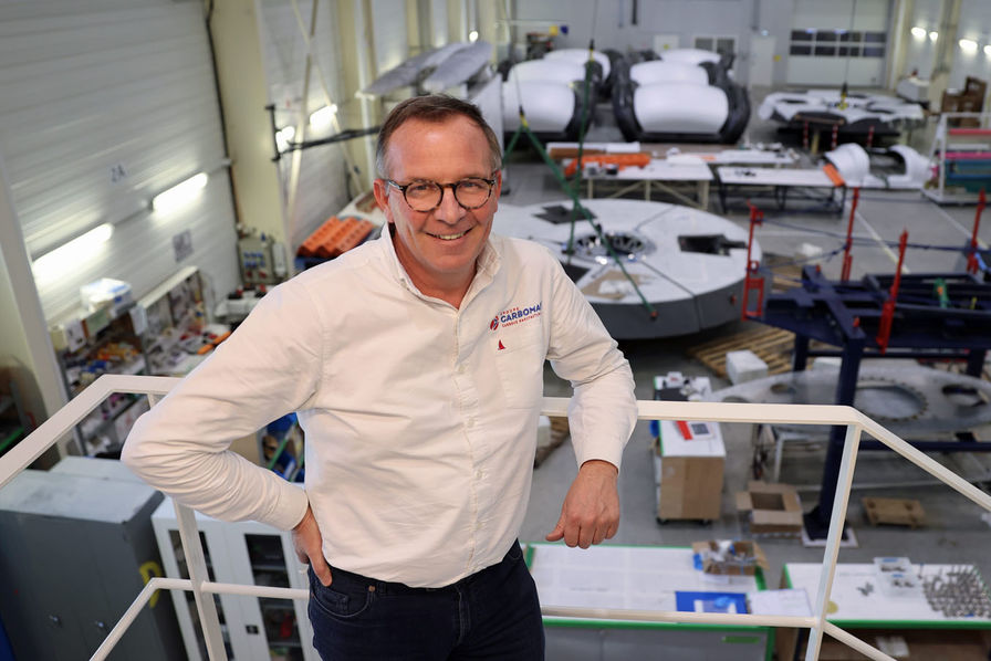 Yann Penfornis, le directeur général de Multiplast (© LE TELEGRAMME/Francois Destoc)