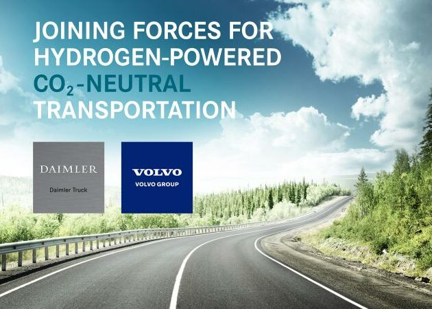Volvo and Daimler Truck sign binding agreement for their fuel-cell joint venture