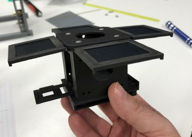 3D printing and carbon composite for mini satellites