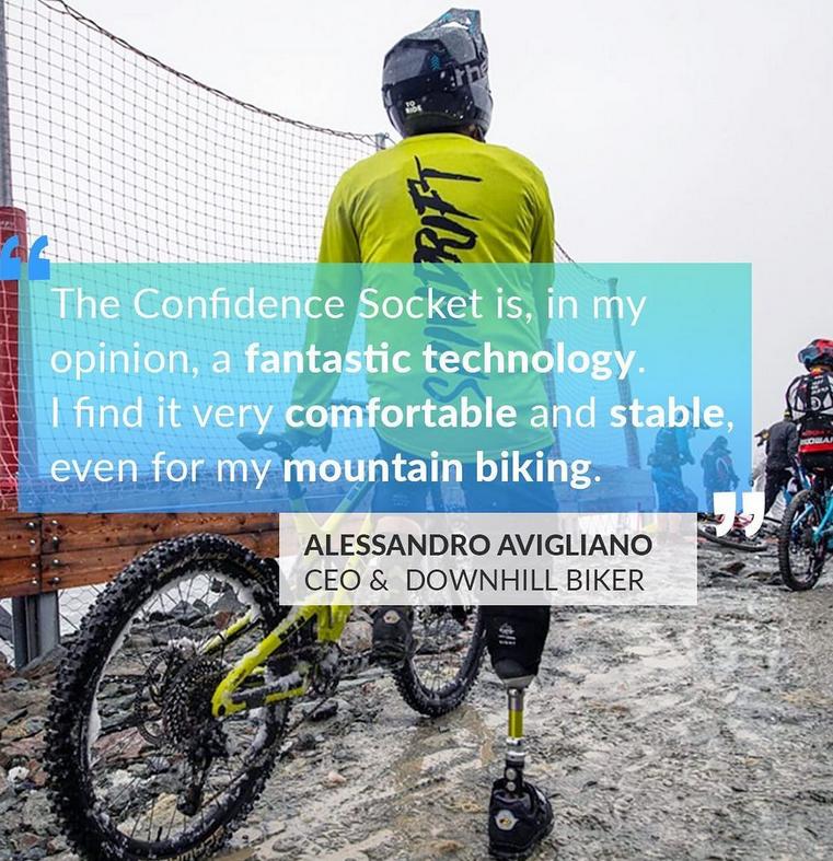 Ale Avigliano feeling 100% confident in his Amparo socket.