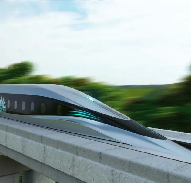 Debut of China's first high-temp maglev prototype