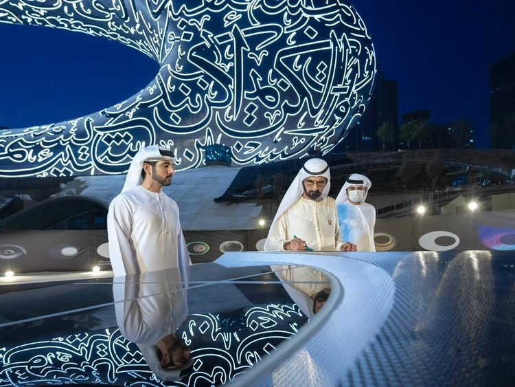 Notus Composites completes final shipment for Dubai Museum of the Future