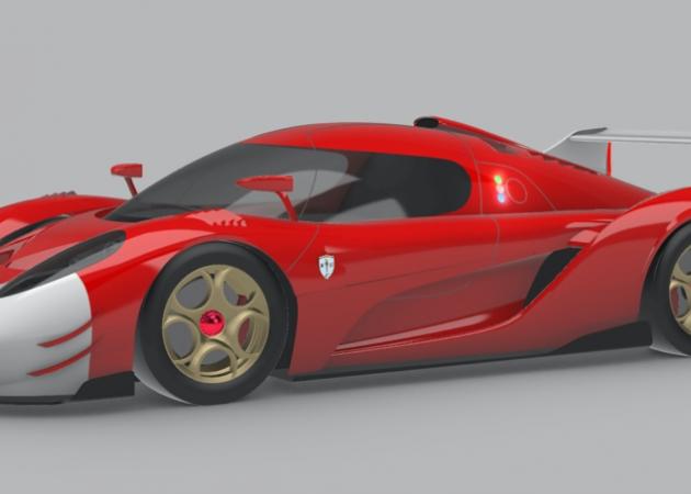 Scuderia Cameron Glickenhaus chooses Bercella for the CarbonFiber Monocoque of its new racer