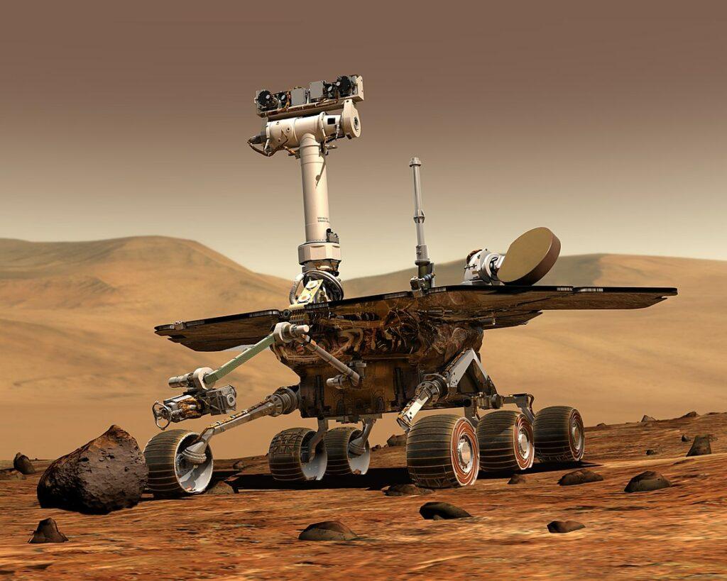 Mars Rover Artists rendition NASA