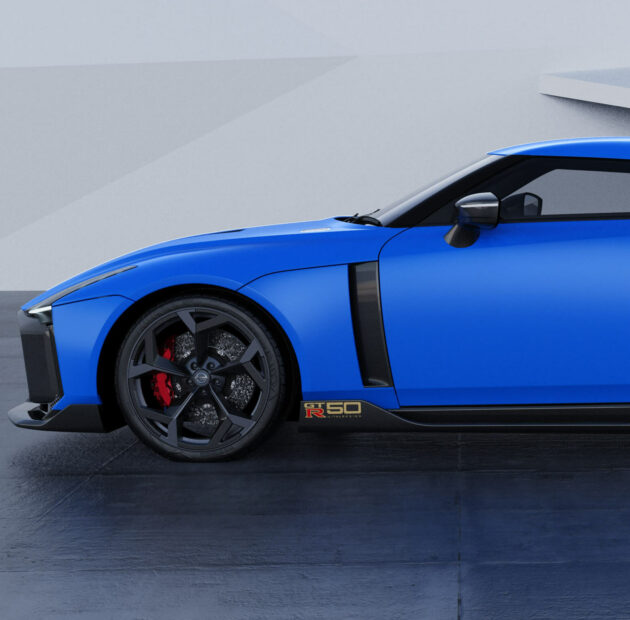 GT-R50: A no-limits reimagining of the Nissan GT-R