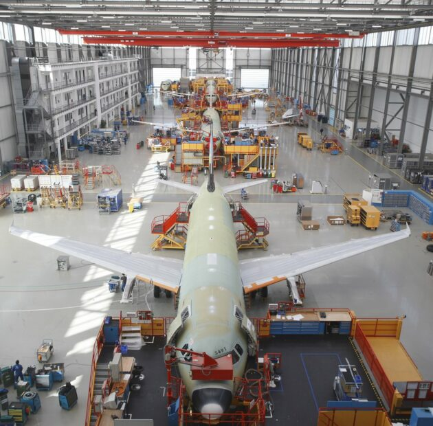 Airbus updates production rates in response to market environment