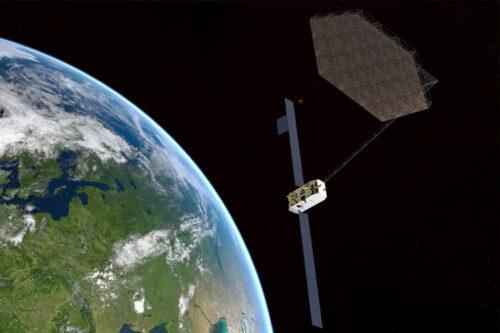 Airbus prépare la première usine de satellites dans l'espace