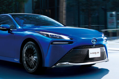 Toyota launches the new Mirai