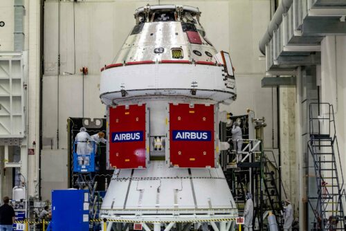 Airbus wins ESA contract for three more European Service Modules for NASA's Orion spacecraft
