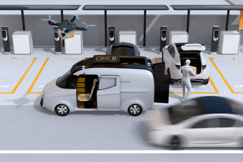 Future e-mobility concepts require innovative lightweight composite solutions