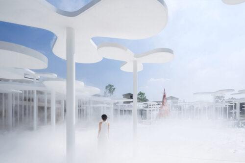 Wutopia Lab creates dreamlike minimalist forest in Huzhou