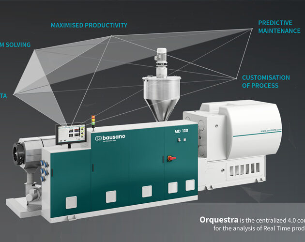 Bausano presents Orquestra, the IIoT data manager for increasingly smart extruders