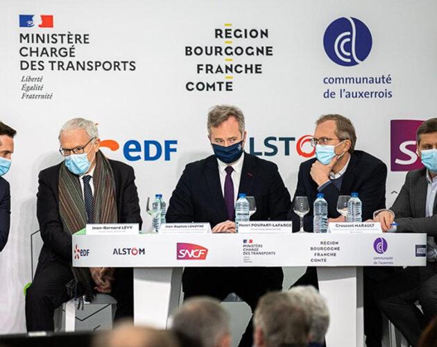 Le TER à hydrogène bientôt réalité en région Bourgogne France-Comté