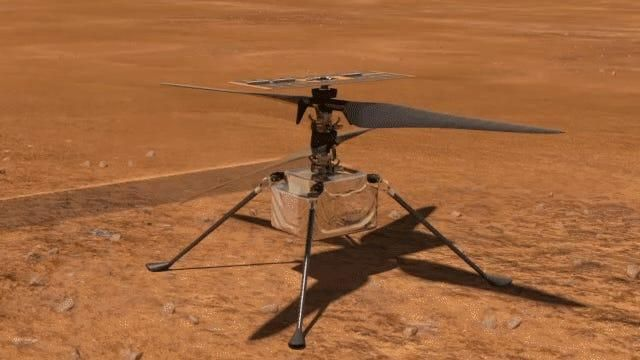 NASA is targeting no earlier than April 8 for the Ingenuity Mars Helicopter to make the first attempt at powered, controlled flight of an aircraft on another planet.