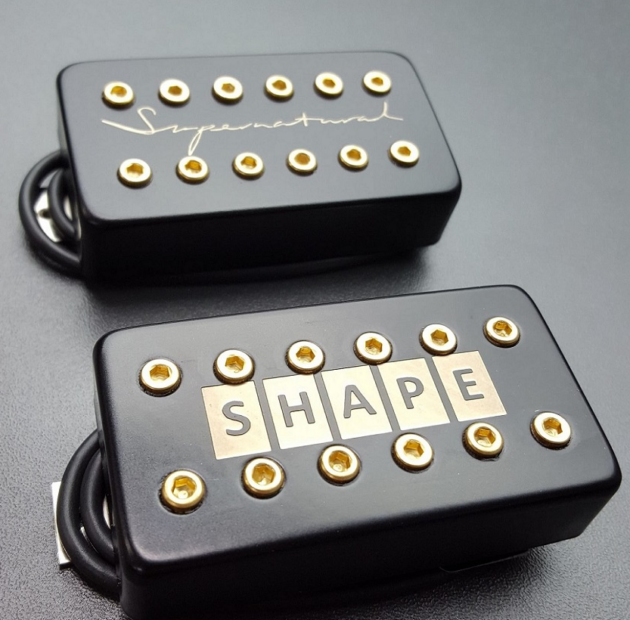 SHAPE forms collaboration with Supernatural-X to develop carbon fibre guitar