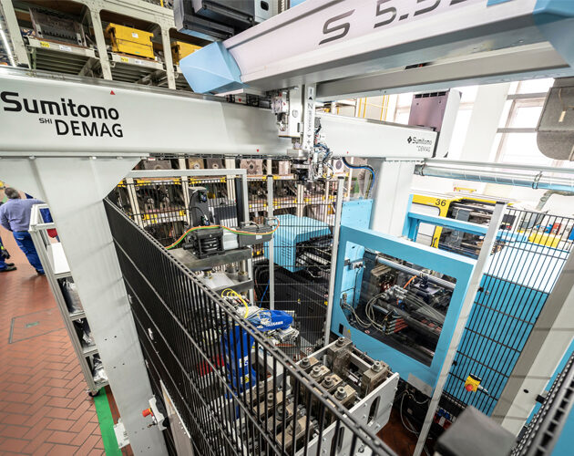 Sumitomo (SHI) Demag and BASF develop new manufacturing cell for high-performance polymers