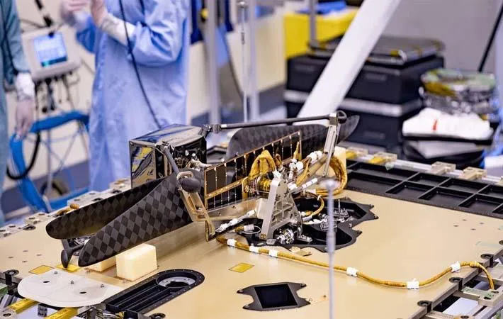 Toray's composite materials used in Mars 2020 mission