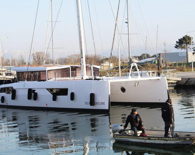 Windelo Catamaran a mis à l'eau son 1er Windelo 50 Adventure