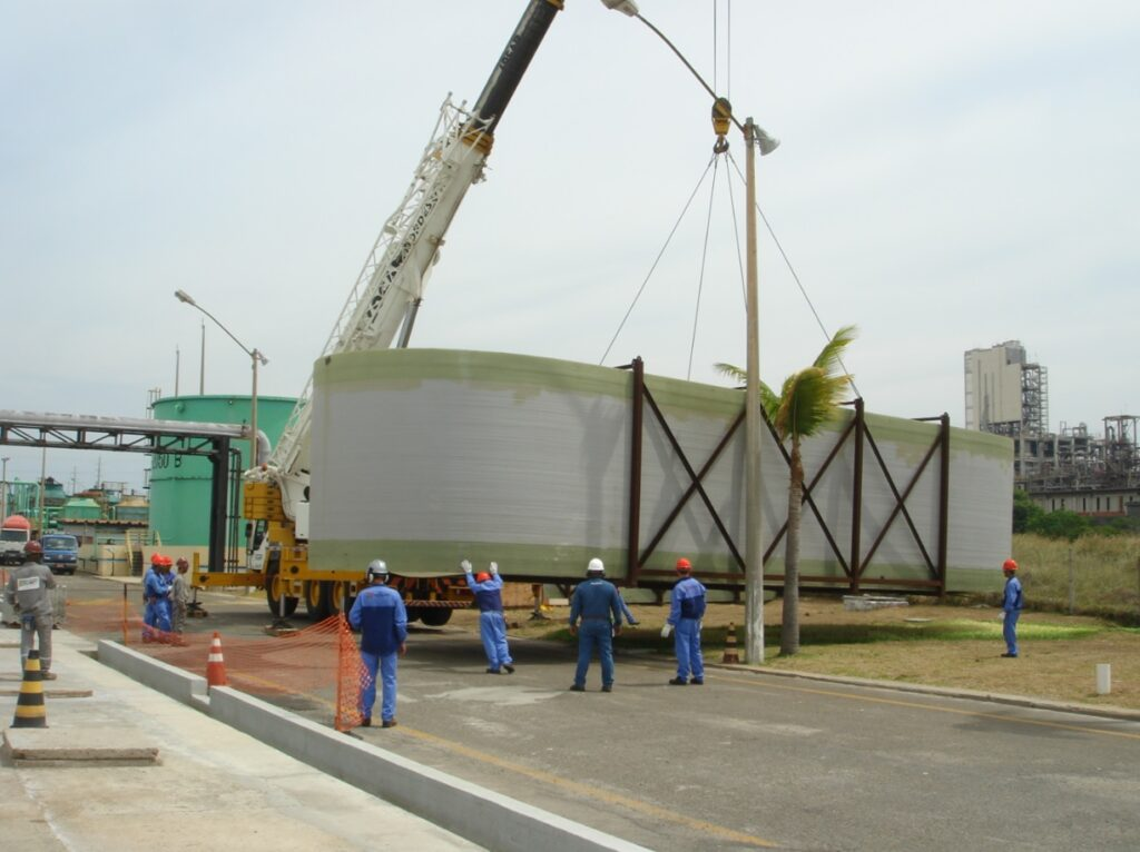 Tecniplas completes ten years of FRP tanks oblation