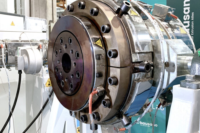 Bausano renews its extrusion lines for pipes