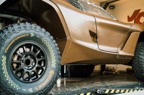 Extreme E embraces high-performance natural fibre composites