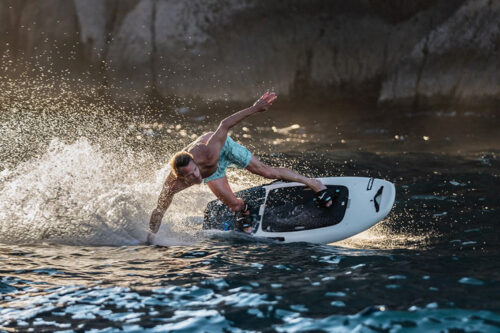 Cobra International collaborates with Radinn to mass produce its new range of electric powered surfboards