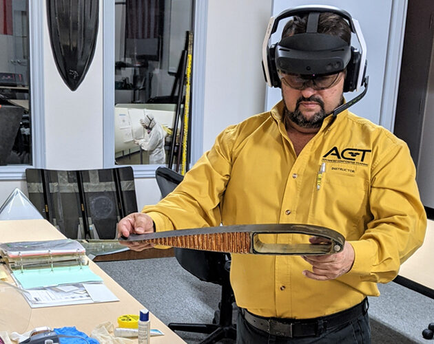 London Ontario's ACT first in world to use augmented reality to deliver composites training