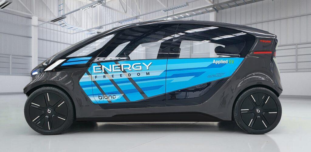 Teijin and Applied EV develop energy-efficient autonomous LS-EV for future mobility