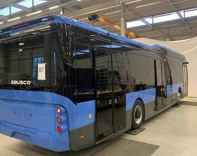 Ebusco selects Telene composite parts for its Ebusco 3.0 citybus