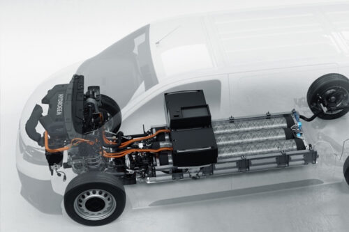 Faurecia supports Stellantis for hydrogen powered light commercial vehicles