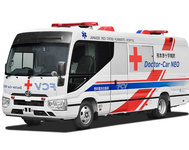 Toyota develops the first fuel cell electric vehicle mobile clinic