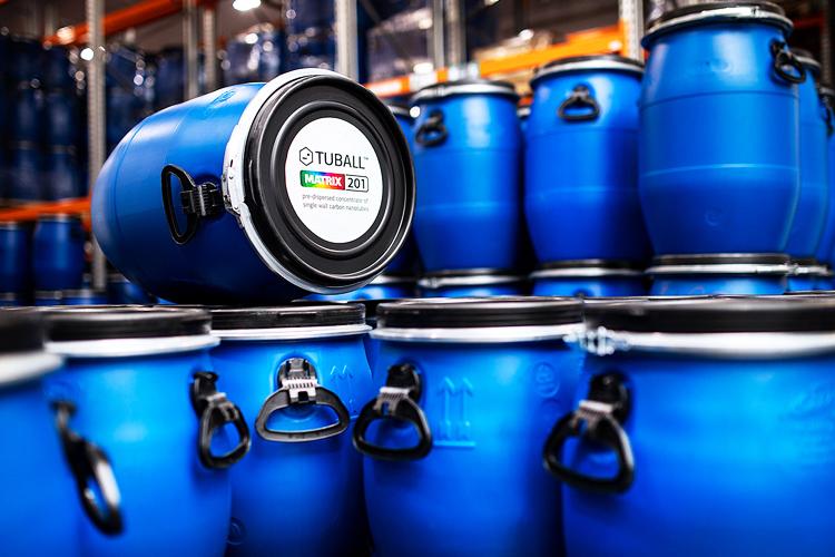 TUBALL MATRIX barrels