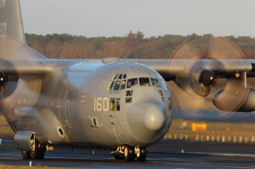 Collins Aerospace upgrades U.S. Navy C-130 fleet with long-lasting wheels and carbon brakes