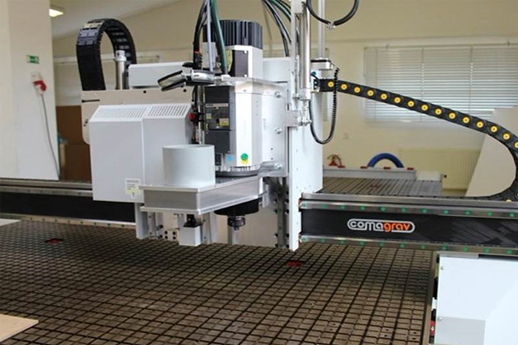 Properties of CompoTech's carbon composite beams enable CNC machining manufacturers to replace much heavier steel and aluminium gantries with a lightweight CF epoxy beam which provides significant in-service production, productivity and cost saving benefits.